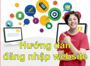 Bài 1: Hướng dẫn đăng nhập website